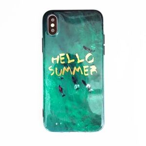 Hello Summer iPhone 7/8 case with string